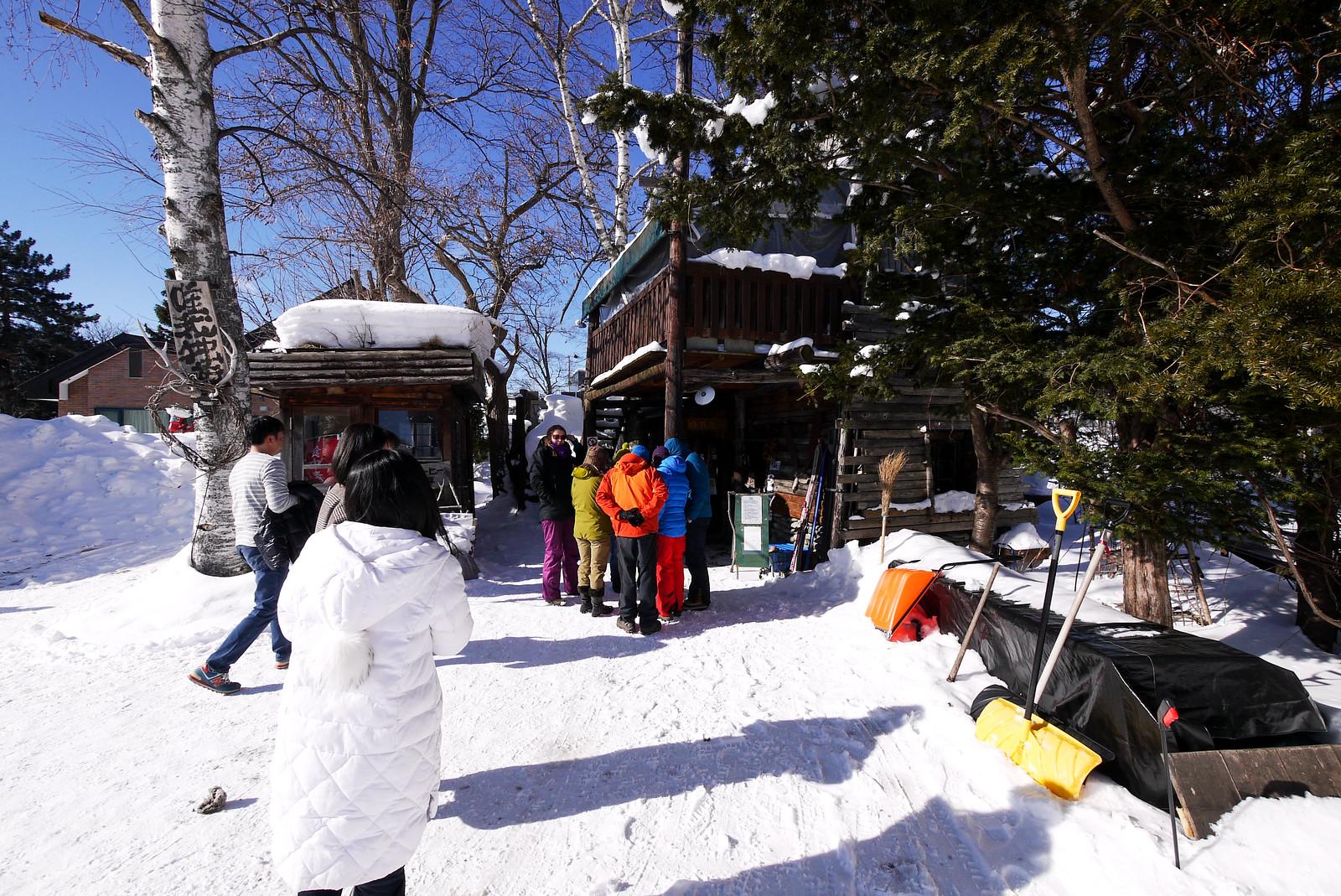 Mt. Maetokachi ski tour (Hut route), Hokkaido, Japan