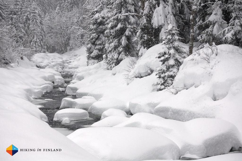 Snowy rivver