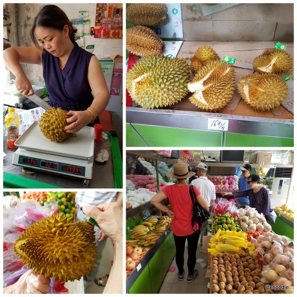 Chinese durians