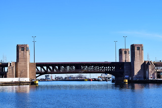 Lake Shore Drive Bridge (1937), Chicago, 2016