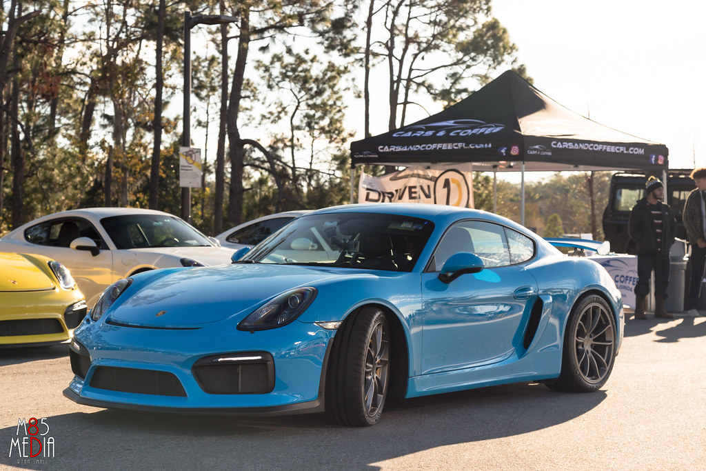 Gorgeous Cayman GT4