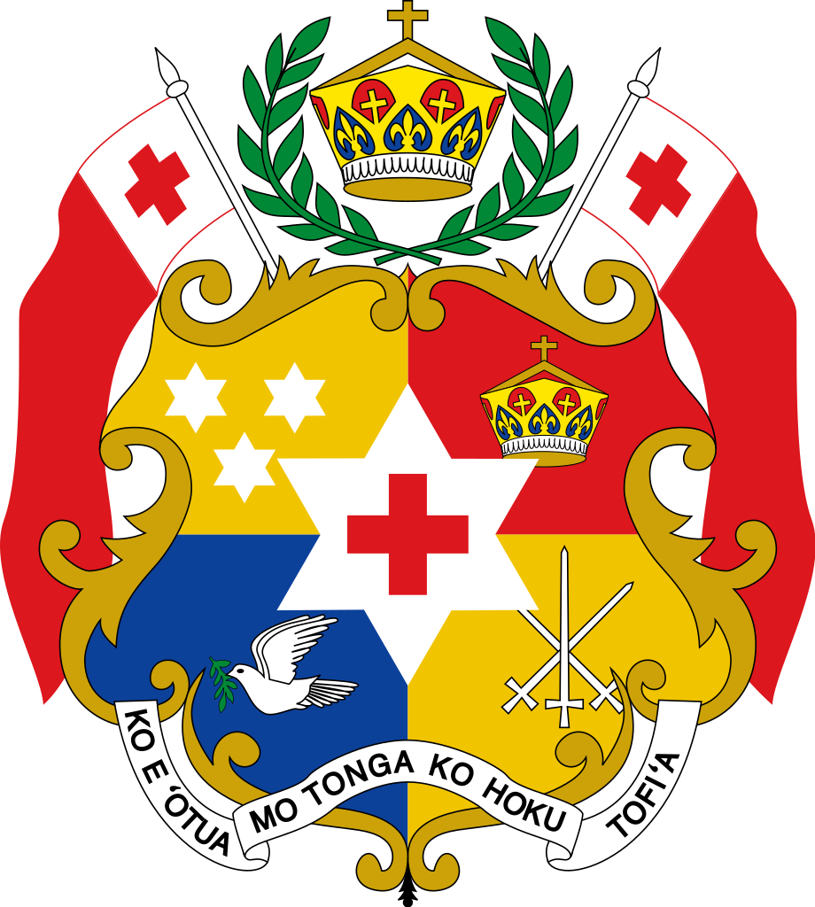 Kingdom of Tonga coat of arms