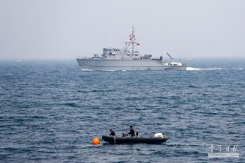 海軍107年春節加強戰備