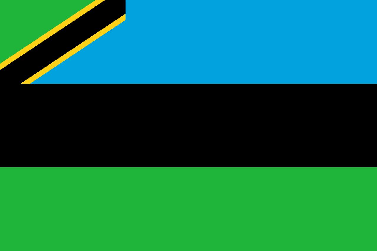 Flag of Zanzibar, 1964-present