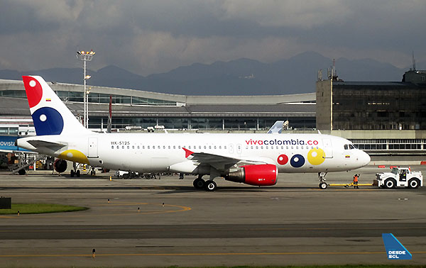 Viva Colombia A320 (RD)