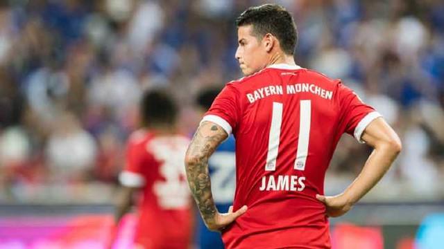 Bayern Munchen Akan Permanenkan James Rodriguez