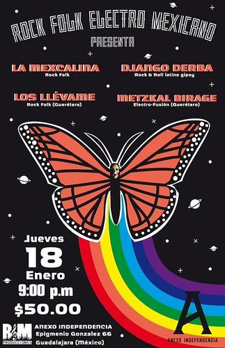 Rock Folk Electro Mexicano | Guadalajara