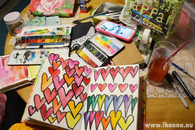 A lovefest on my table by iHanna #studioihanna