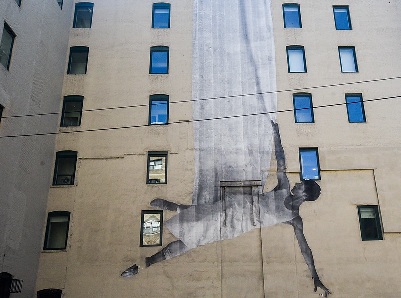 Walk In New York - Manhattan - Street Art - JR