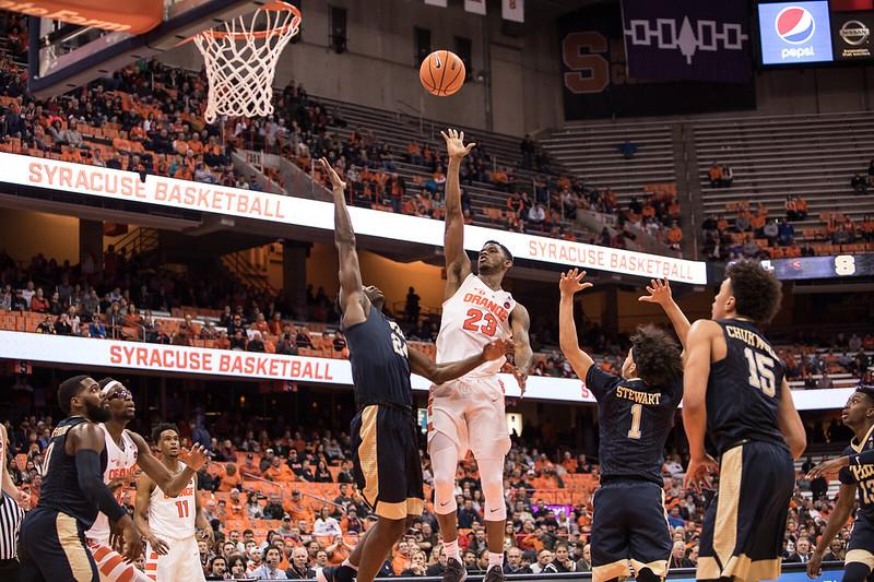 SU Men's Basketball v Pitt