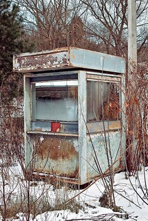 SDIM0508. Scrapped Ticket Booth