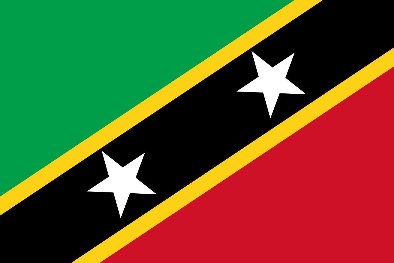 St. Kitts-Nevis national flag, 1983-date