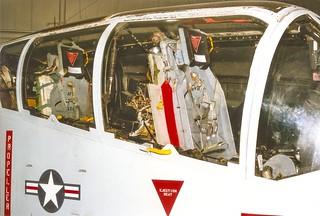Dayton USAF North American OV-10 cockpit from right