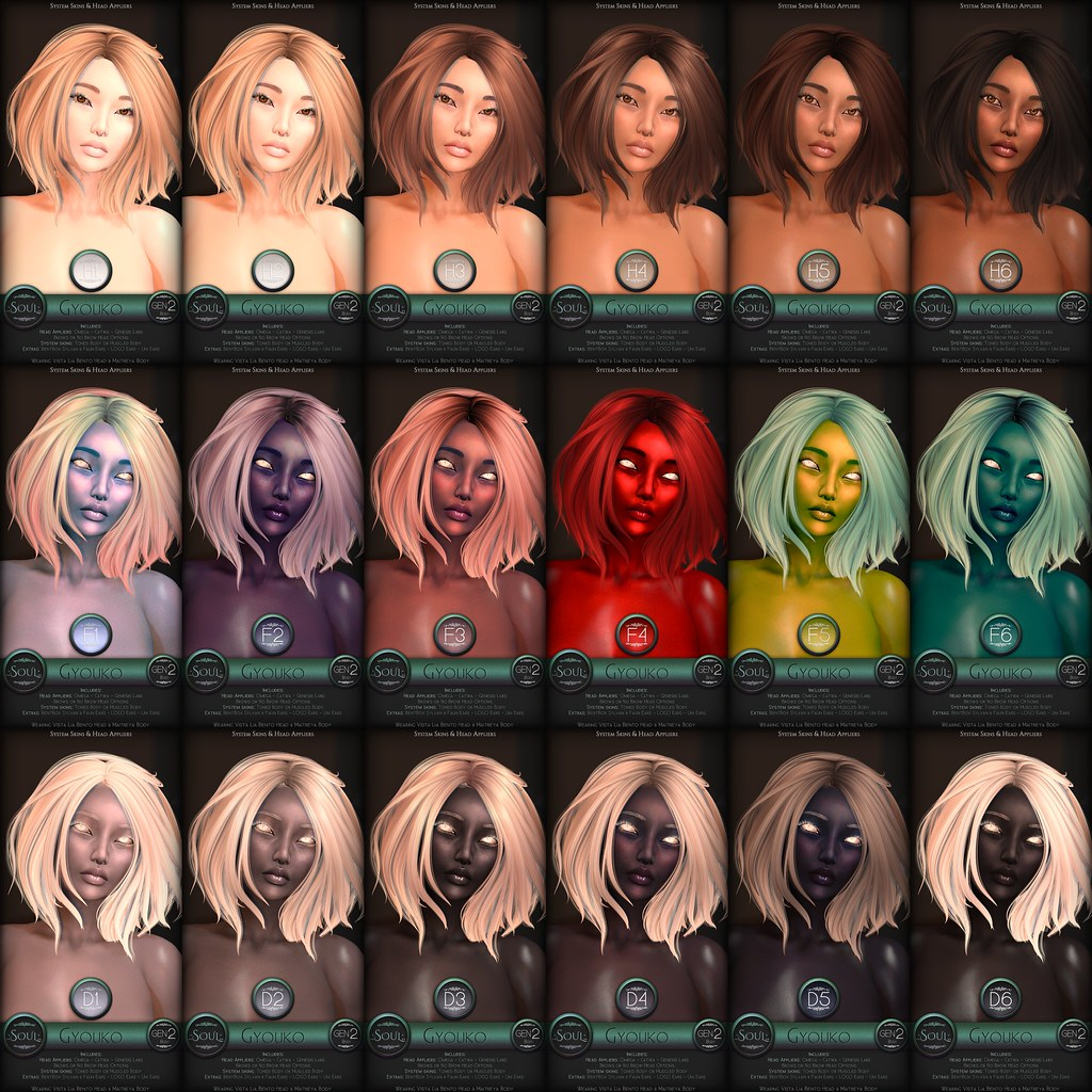 .:Soul:. Gyouko – System Skins & Head Appliers