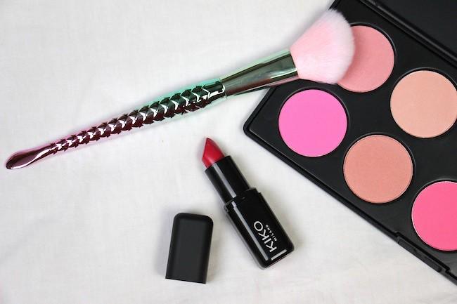 Maquillage de printemps simple avec mon rouge à lèvres Kiko