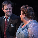 All My Sons at the Arvada Center, 2018 - Pictured L-R: Geoffrey Kent (George Deever) and Emma Messenger (Kate Keller). Photo - Matt Gale Photography 2018