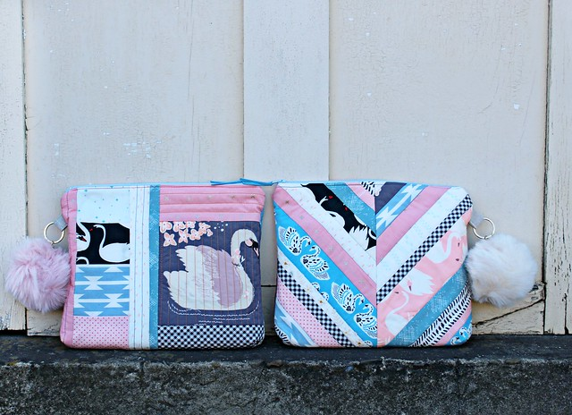 Swan Journal Clutches
