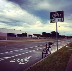 Bike Lane Richardson