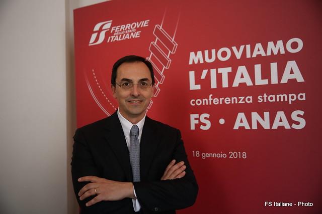 """Conferenza Stampa FS- ANAS """"Muoviamo l'Italia"""""""
