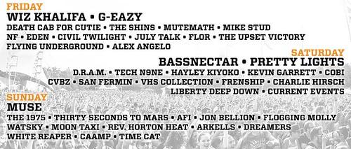 2017 lineup