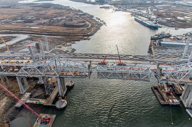 Goethals Bridge Replacement Project - Progress - December 2017