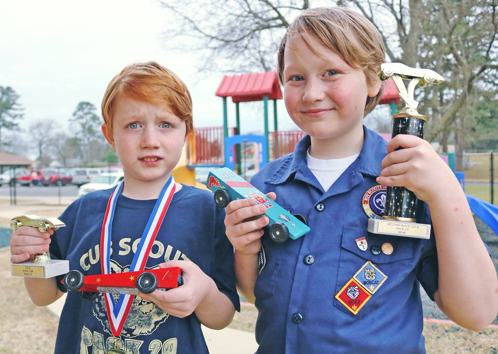 Pinewood Derby 2018