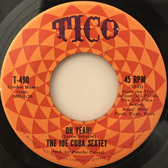 THE JOE CUBA SEXTET:OH YEAH!(LABEL SIDE-A)
