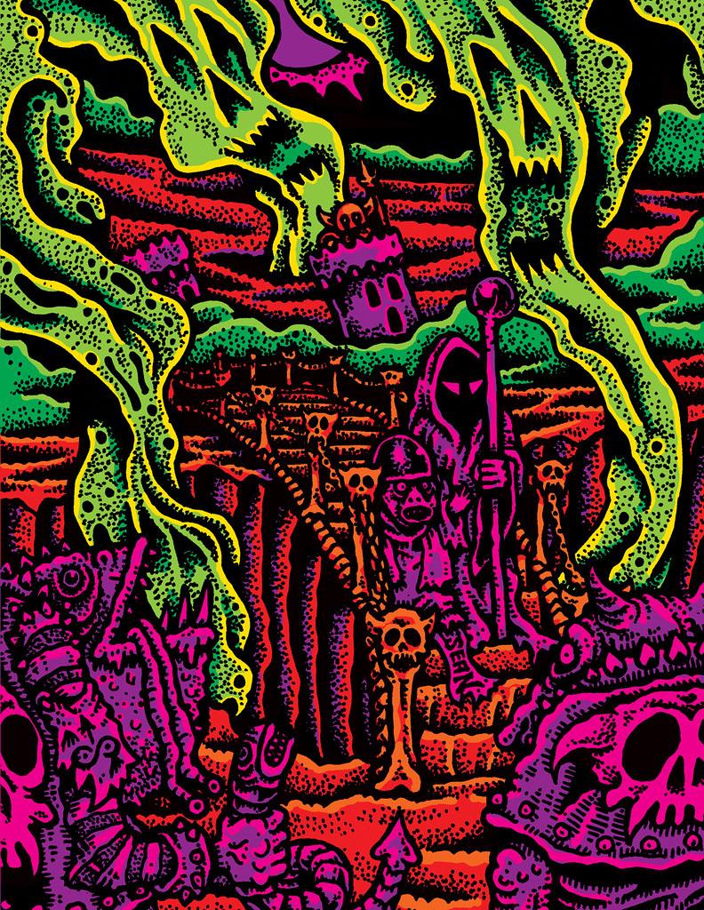 Sean Aaberg - Dungeon Degenerates - SKULL BRIDGE
