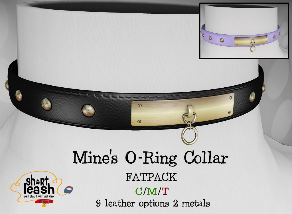 Short Leash Mine's O-Ring Collar - TeleportHub.com Live!