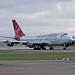 Jumbo Jet takes off