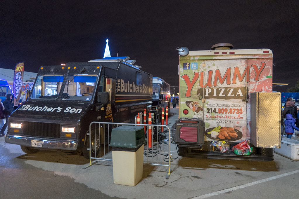 Food trucks at Enchant
