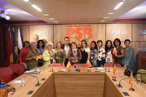 Reunião da CSL-MGI no PSB - 27/2/2018