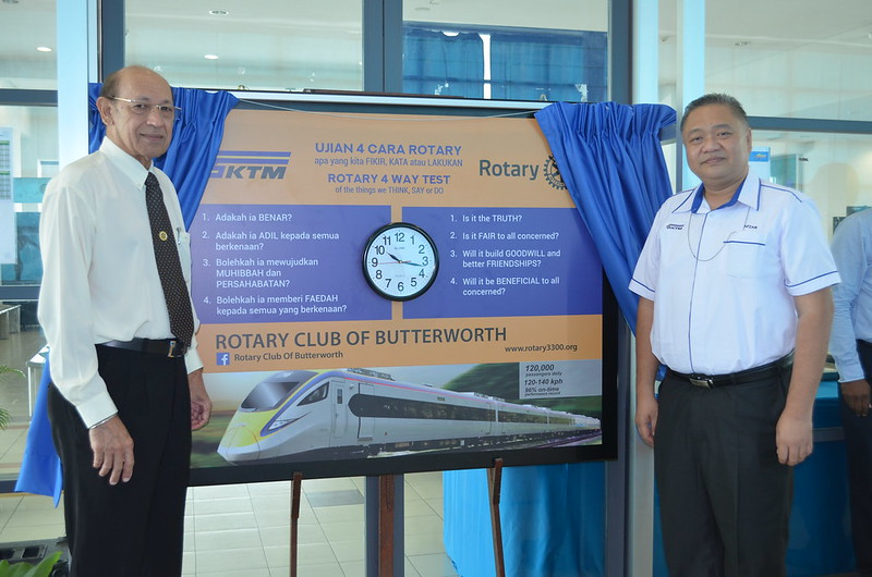 Rotary-KTMB Pride of Workmanship Award