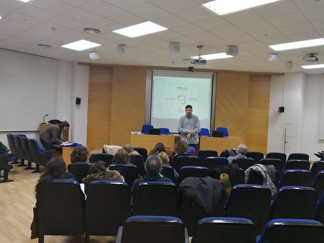 Formación docentes Curso UEx (Badajoz, 24 de enero de 2018)