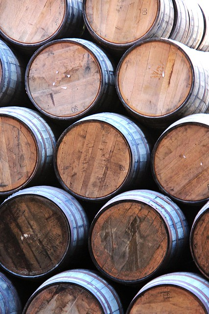 Empty Whisky Barrels