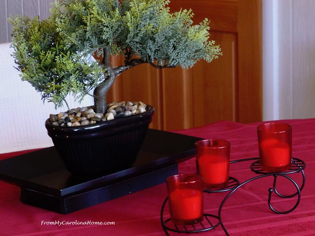 Oriental Inspired Tablescape at From My Carolina Home