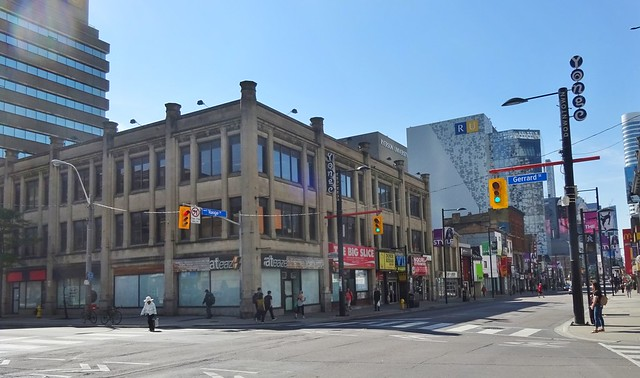 Corner of Yonge & Gerrard Streets, Toronto 2017
