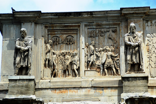 Arch of Constantine Detail 4