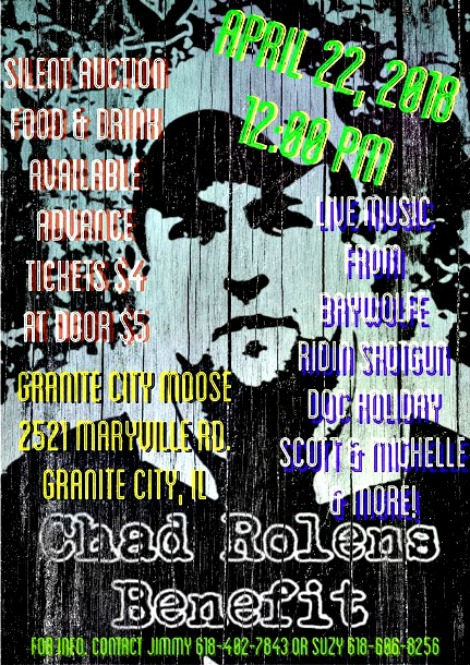 Chad Rolens Benefit 4-22-18