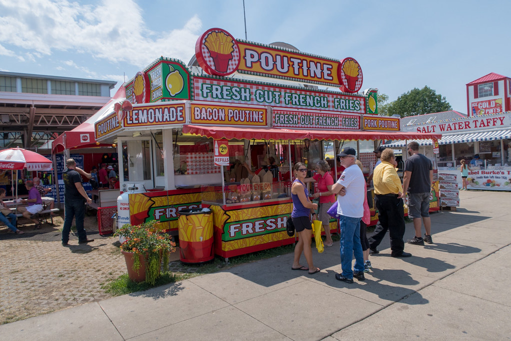 Poutine at Iowa State Fair
