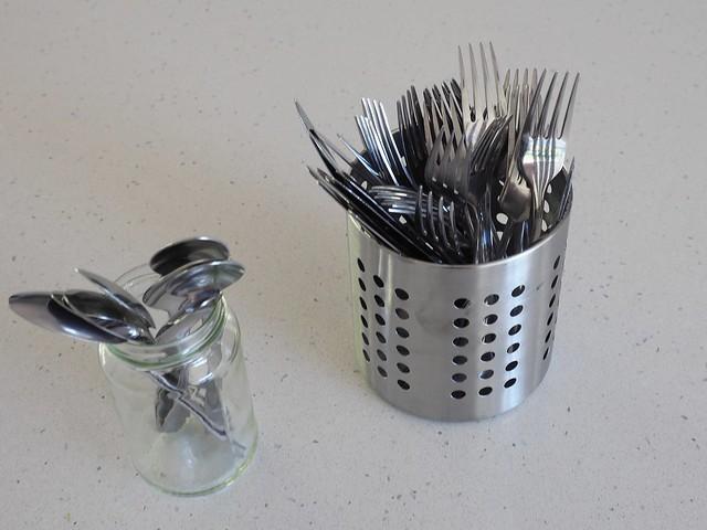 Op shop cutlery