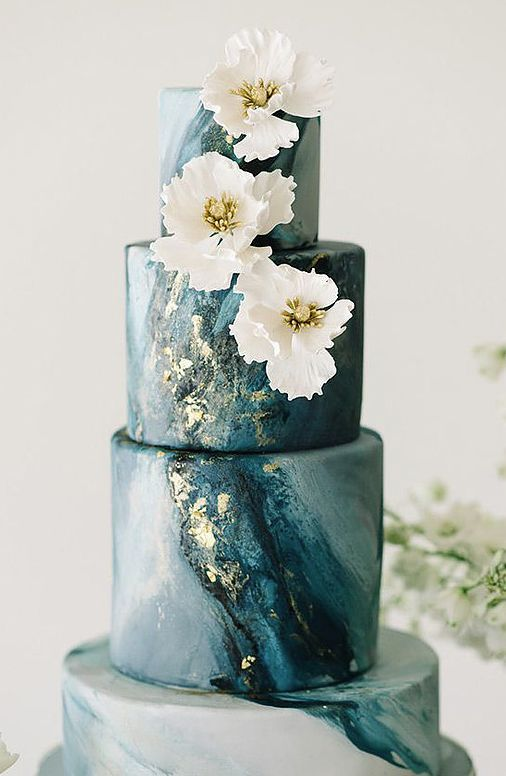 Wedding Cakes : Wedding cake idea; Featured Cake: Nadia & Co