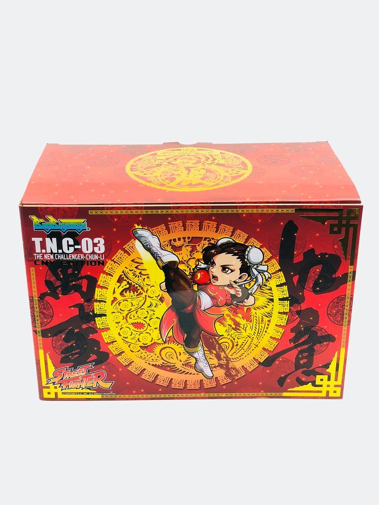 喜氣洋洋好過年~BigBoysToys T.N.C. 系列《快打旋風》春麗的百裂腳 新年限定版 Chun-Li Chinese New Year Edition
