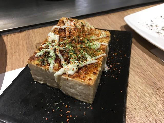 大阪豆腐燒@桃園hot 7新鉄板料理