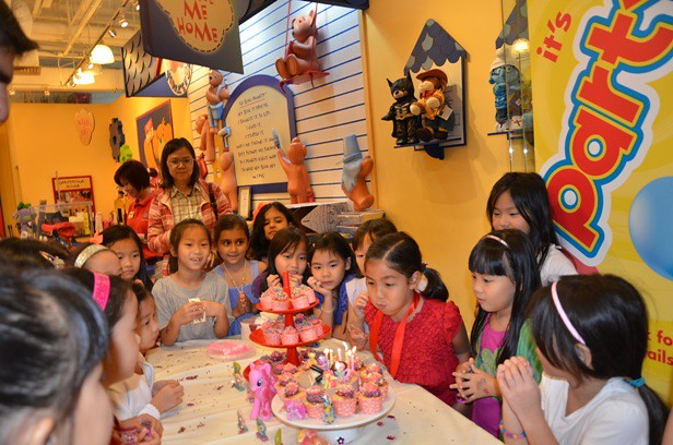 Build-A-Bear Birthday Party
