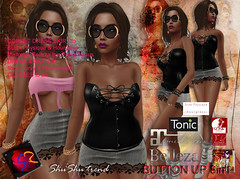 ShuShu BUTTON UP outfit 3in1 - SLink Belleza Maitreya Tonic