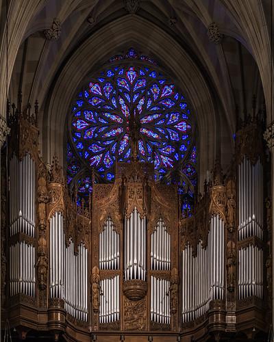 Organ, St. Patrick's Cathedral, New York 1/14/18 #stpatrickcathedral #nyc