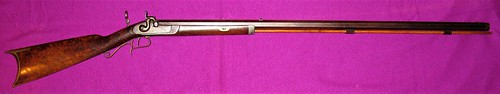 Percussion Target Rifle By C. H. Gmehlin, Bloomington, Illinois