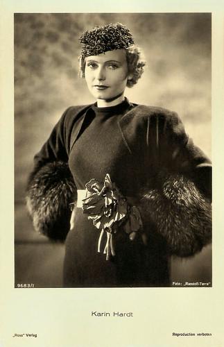 Karin Hardt in Der Abenteurer von Paris (1936).
