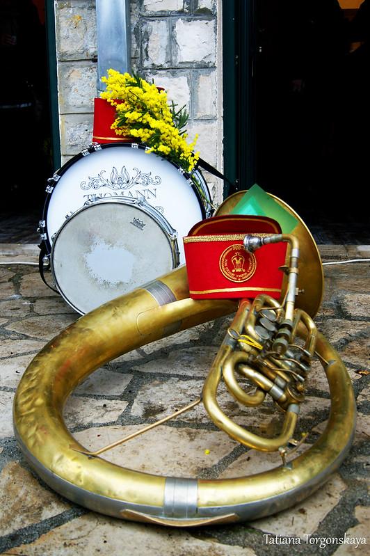 Инструменты херцегновского оркестра